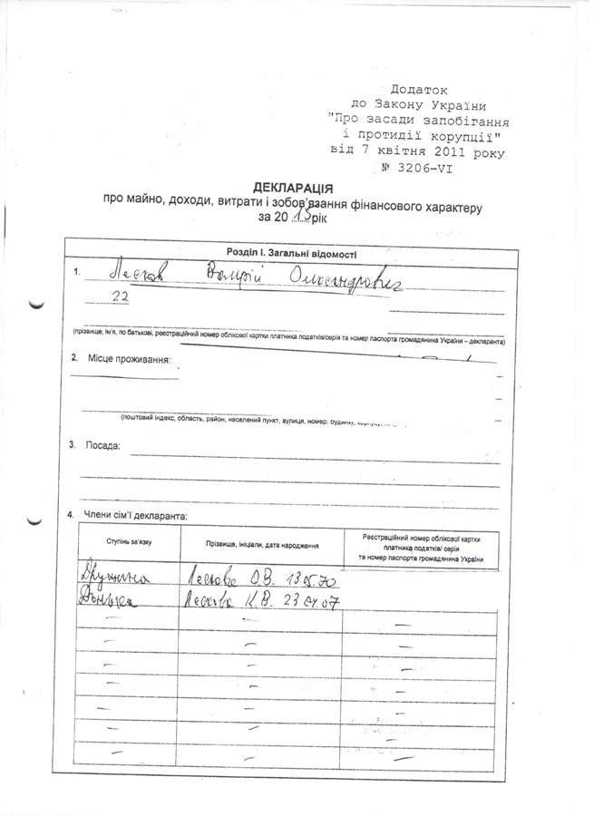 Декларація Лесков 1