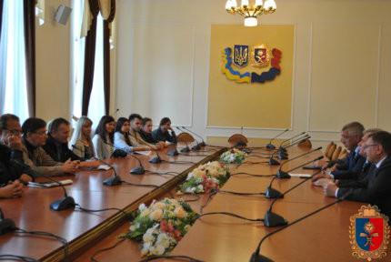 Михайло Загородний зустрівся з делегацією Куяво-Поморського воєводства