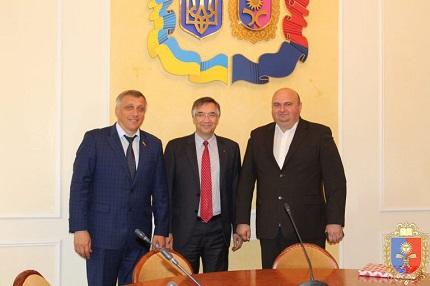 М.Загородний та О.Корнійчук провели робочу зустріч з Послом Канади